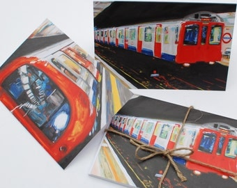 London Underground Greeting Cards