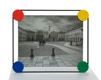 Designer frames-Frame-100% Made in Italy-version: green, blue, red, yellow, black 24 x 30