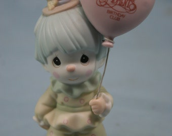Precious Moments Figurine,Happiness Is Belonging,With Box