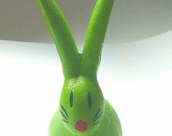 Green Rabbit Decoration