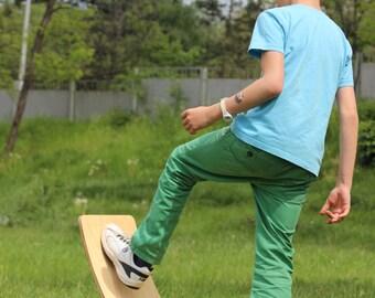Rocker Board, Balance Board for children, Eco friendly children toy, Free shipping