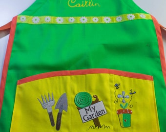 Child Apron - Little Gardener