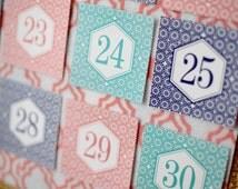 Ramadan Calendar 30 Days of Good Deeds - Countdown to EID! {Izmir Collection} Printable File.