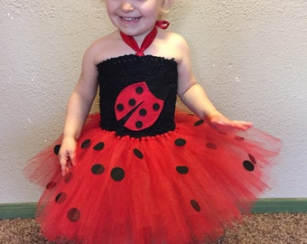 Ladybug Tutu dress