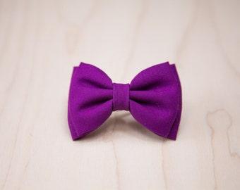 Purple Grape Hair Bow