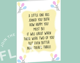 New baby PDF JPEG instant download poem cute birthday girl boy yellow birth parent celebration christening baby shower newborn family gift
