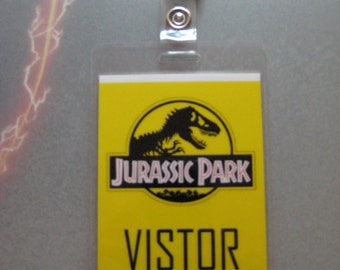 Jurassic Park - Visitor ID Badge [ T2 ]