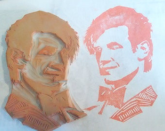 Dr Who #11 Hand Carved Rubber Stamp