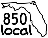 Items Similar To Local Florida Decal Customize Your State - 850 area code