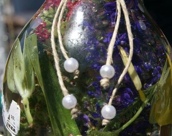 Boho beach pearls