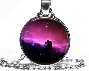 Galaxy -  Space Handmade Pendant Necklace
