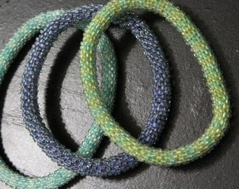 Bead Crochet Bangle