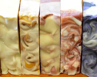 ANY 10 Natural Handmade Soaps Combo, Australian Natural Milk Soap, Kansha Botanicals
