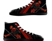 Spiderman Shoes High Top Canvas Casual Men and Women Shoes Unisex Shoes
