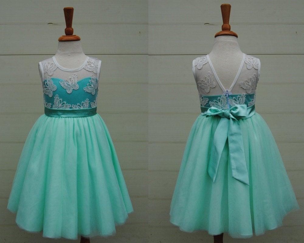Mint Flower Girl Dresses Sears - Wedding Dresses In Redlands