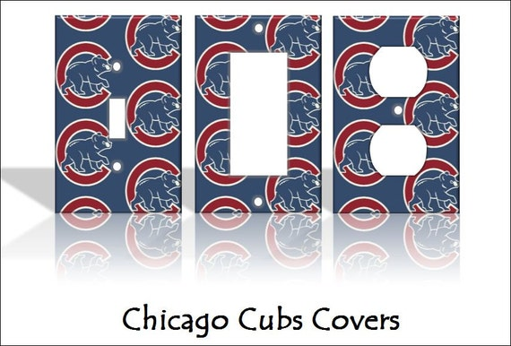 Chicago Cubs Baseball Mlb Sports Light Switch By