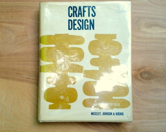1960s Crafts Design How-To Book with Great Retro Projects and Illustrations
