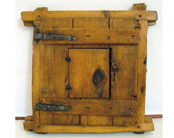 001 Rustic window