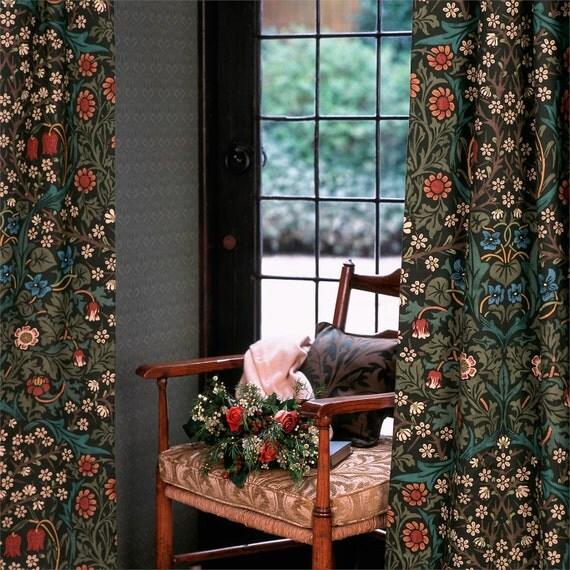 William Morris Curtains Blackthorn 90 Drop 52 Wide