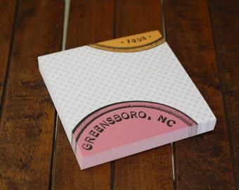 Greensboro Polka Dot Notepad
