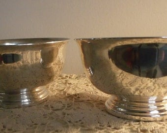 Gorham Silverplated Bowls set of 2