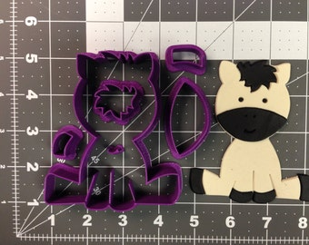 Baby Zebra Cookie Cutter Set