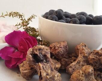 Blueberry Bliss Organic Dog Treats