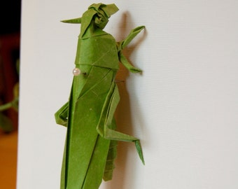 Origami Insect (Grasshopper)