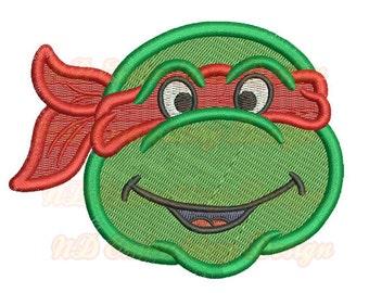 Ninja Turtle Faces Etsy