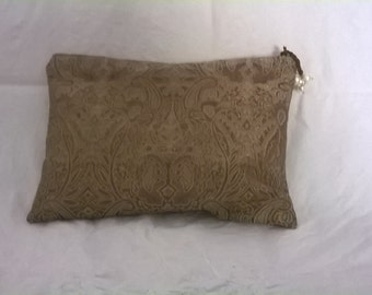 Damask fabric bag