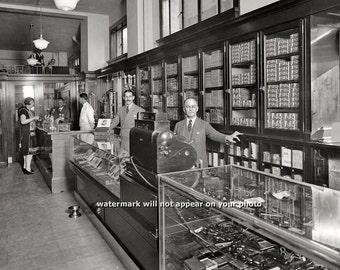Barber Shop Johnson City Tn : Vintage 1949 BARBERSHOP Barber Shop World War II by PictureRelic