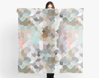 Sarong / scarf / beach wrap 140 cm x 140 cm
