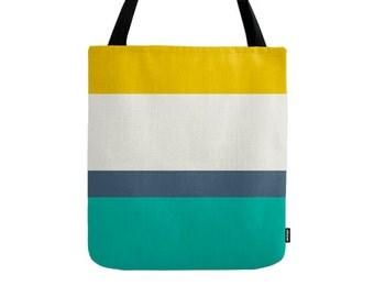 Stripes tote bag Stripes bag Summer tote bag summer canvas bag summer bag Striped Tote Bag coastal tote bag beach tote bag striped canvas