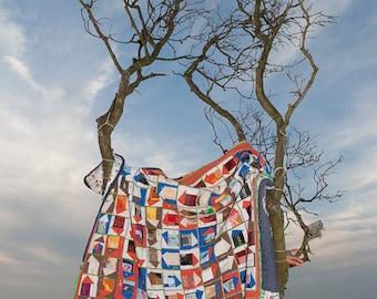 Fauthstrasse, an ART quilt, quilt