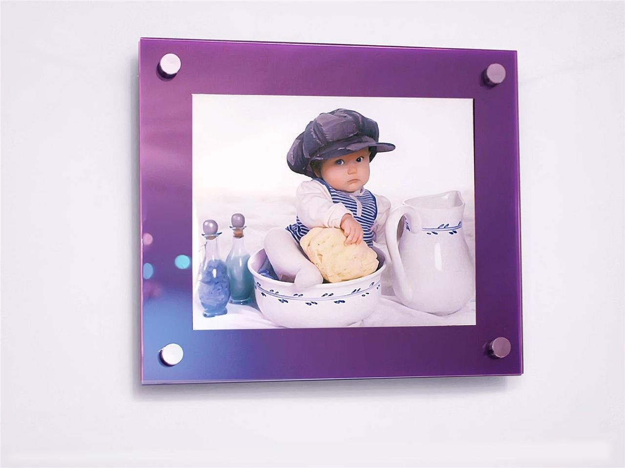 Cheshire acrylic purple 10mm picture wall frame for 8 x 10 10 x gallery photo gallery photo gallery photo jeuxipadfo Gallery