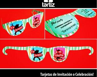 Sunglasses Card / card sunglasses