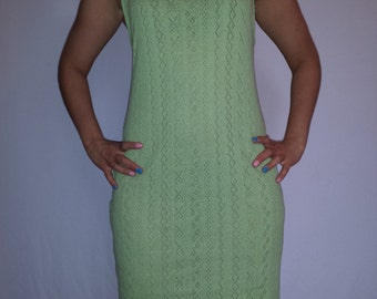 Organic cotton, cotton dress, openwork eco friendly, organic clothing, Bio Baumwolle, Baumwollkleid, Bio- Kleidung,viscose