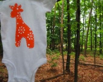 Whimsical Giraffe Onesie