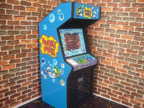 borne arcade bubble bobble