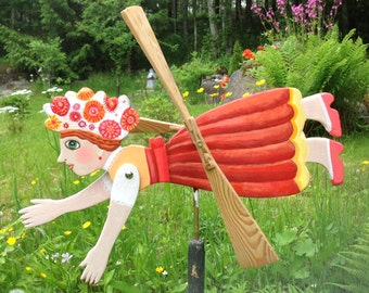 how to make a wooden whirligig