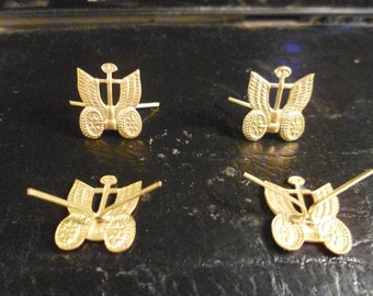 Automotive logo army troops of the USSR. Price per pair.
