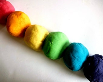 Rainbow Play Dough