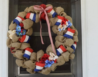 Proud to be an American Wreath