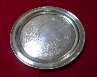 Wallace Silver Plate Serving Platter