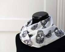 Rock Tribal Skull Pattern Scarf Rock the World UN1003