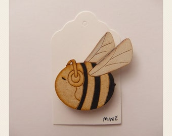 Bee Mine Brooch