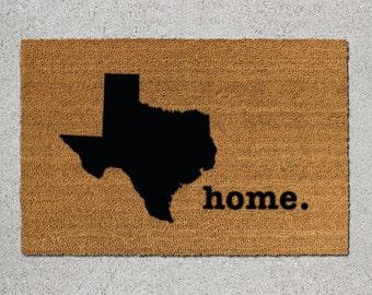 Texas Doormat, Texas Door Mat, Texas Welcome Mat, Texas State Doormat, Doormat, Door Mat, State Doormat, Welcome Mat, Texas State Mat, Texas