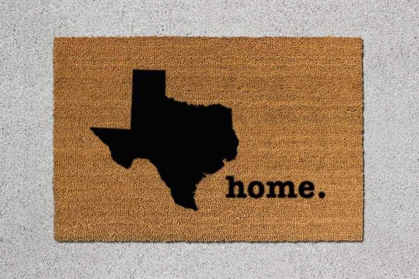 Texas Doormat Texas Door Mat Texas Welcome Mat Texas State Doormat Doormat : texas door - Pezcame.Com