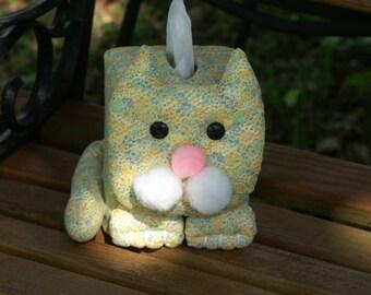 Cat tissue box cover boutique size