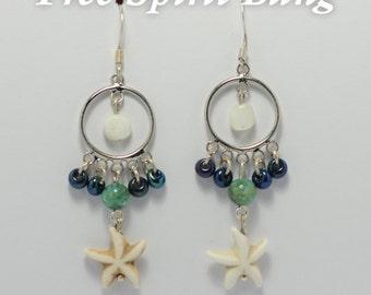 Tropical Star Earrings